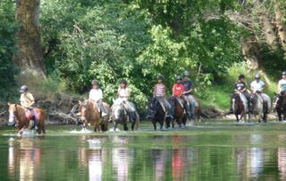 Randonnée Equestre Accompagnée - Chavetourte