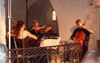 Pont de Labeaume : concert à l'Eglise de Nieigle
