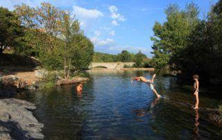 La Souche : Plan d'eau