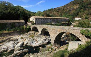 Meyras : Moulinage à Neyrac les Bains
