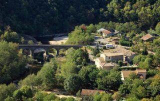 Meyras : Pont du Barutel