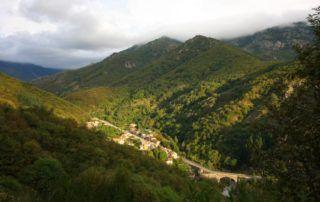 Barnas : vue du village