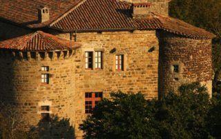 Jaujac : château de Castrevieille