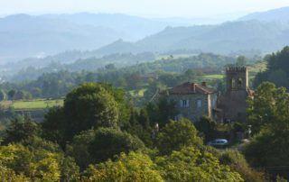 St Cirgues de Prades : vue du village