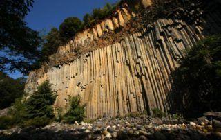 Fabras : coulée basaltique
