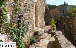 Village de caractère de Saint-Montan