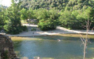 Camping la Charderie - Pont de Labeaume
