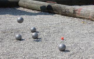 Espaces jeux de boules