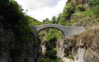 Randonnée à Thueyts : Pont du Diable / Fargebelle