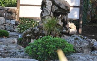 Le jardin du violon des ruisseaux