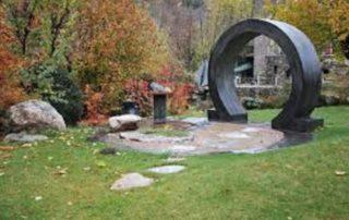 Visite du jardin du violon des ruisseaux
