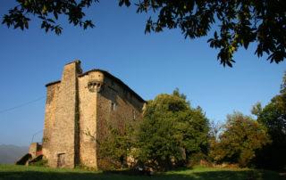 Randonnée à Meyras : Circuit du château d'Hautségur