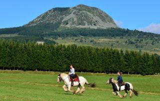 Itinérance équestre dans le Parc Naturel des Monts d'Ardèche