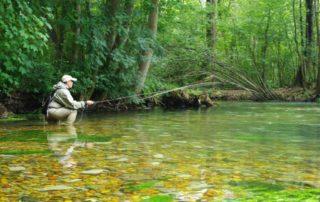 séjour pêche à la mouche