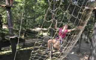 Parcours accrobranche - Adventure Camp