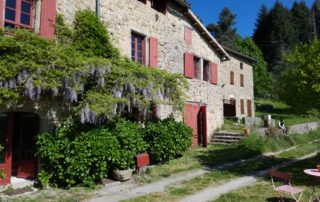 Chambre d'hôtes Le Mellerey - Façade de la maison