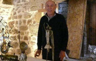 Expo : Martine Adaire sculpture te patchwork, Jean-Louis Fialon fer forgé