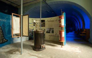 Chirols - Écomusée du moulinage - Partie de l'exposition