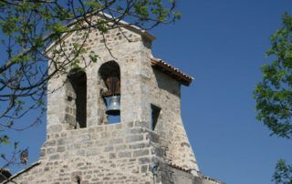 St Cirgues de Prades : Clocher