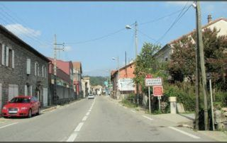 Village de Lalevade d'Ardèche