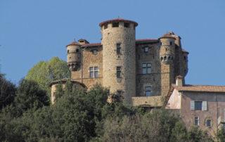 Meyras - Château de Hautsegur Face Sud