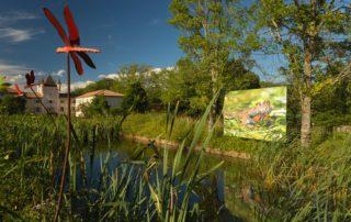 Jaujac - Domaine de Rochemure, Maison du Parc naturel régional des Monts d'Ardèche
