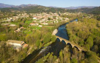 Lalevade-d'Ardèche - Pont de l'ancienne voie ferrée