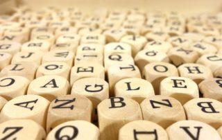 Lettres, alphabet
