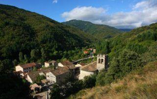 Barnas : vue sur le village