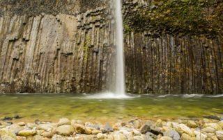 Fabras - Cascade temporaire dans la vallée du Lignon