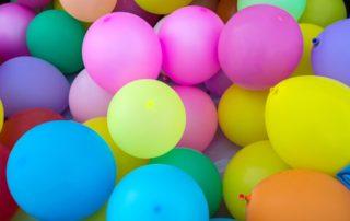 Ballons, fête