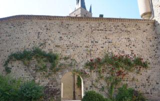 Thueyts - Cour intérieure du château de Blou ©Maëva-Lopez