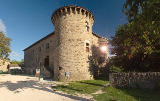 Jaujac - Château de Castrevieille ©S.BUGNON