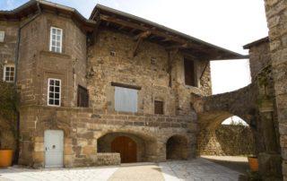 Montpezat-sous-Bauzon - Château de la Ville Basse-2 ©S.BUGNON