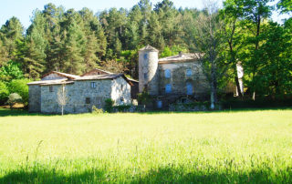 Prades - Château de Montseveny ©OTASV