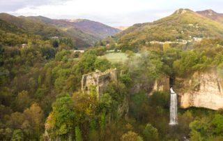 Montpezat-sous-Bauzon - Site de Pourcheyrolles-zoom château pourcheyrolles ©S.BUGNON