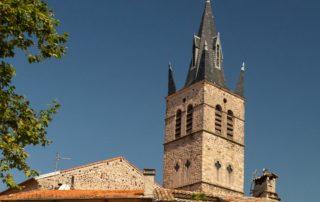 Thueyts - Visite guidée du village-zoom tour de l'église ©S.BUGNON