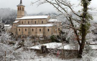 Jaujac - L'église ©S.BUGNON