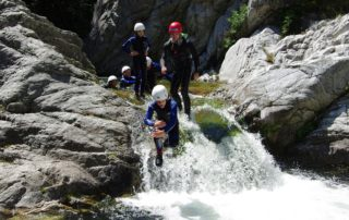 Canyoning avec Cîmes et Canyons