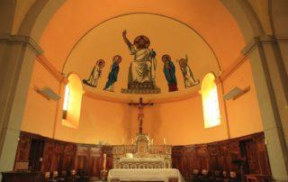 La Souche - Eglise St Sauveur intérieur ©OTASV
