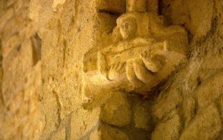 Montpezat-sous-Bauzon - Sculpture à Notre Dame de Prévenchères ©S.BUGNON