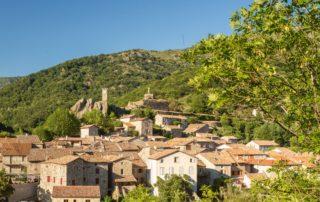 Burzet - Le village-zoom statue de la vierge ©S.BUGNON