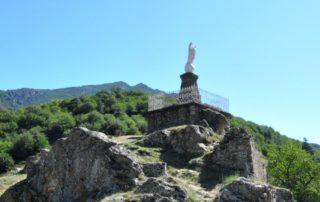 Burzet - Statue de la vierge ©OTASV