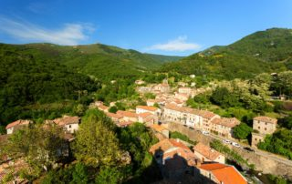 Burzet - Le village depuis la Tour de l'Horloge ©S.BUGNON