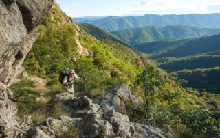 La Souche - Randonnée sur le Tanargue ©S.BUGNON