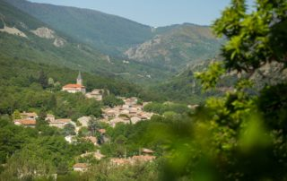 Dorf von La Souche