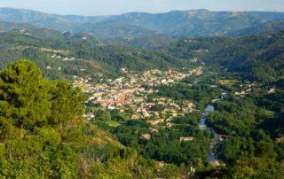 Lalevade - Vue depuis le Col de Farges ©S.BUGNON