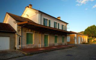 Lalevade - L'ancienne gare ©S.BUGNON