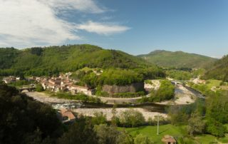 Pont-de-Labeaume - Le village ©S.BUGNON
