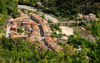 Pont de Labeaume - Le Village ©S.BUGNON